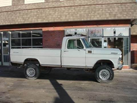 1970 Ford F-250 for sale at AUTOWORKS OF OMAHA INC in Omaha NE