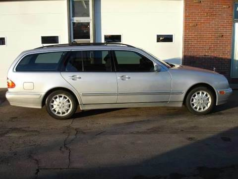 2000 Mercedes-Benz E-Class for sale at AUTOWORKS OF OMAHA INC in Omaha NE