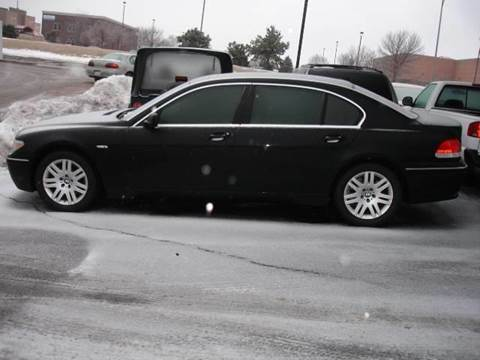 2002 BMW 7 Series for sale at AUTOWORKS OF OMAHA INC in Omaha NE