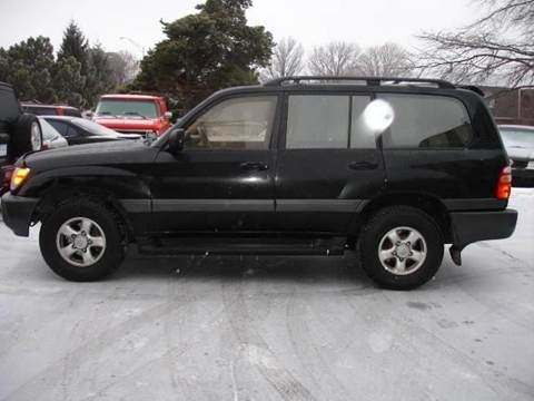 1998 Toyota Land Cruiser for sale at AUTOWORKS OF OMAHA INC in Omaha NE