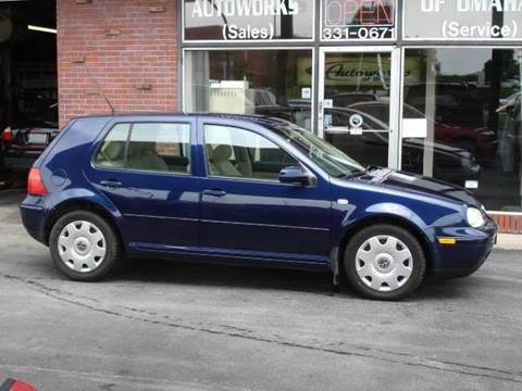 2002 Volkswagen Golf for sale at AUTOWORKS OF OMAHA INC in Omaha NE
