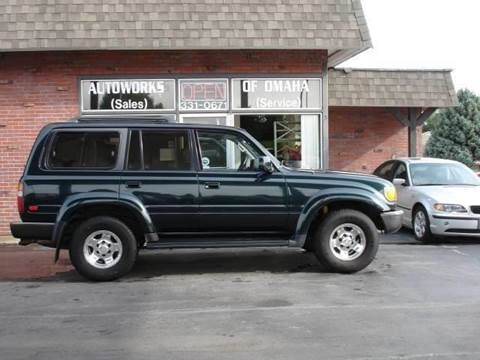 1994 Toyota Land Cruiser for sale at AUTOWORKS OF OMAHA INC in Omaha NE
