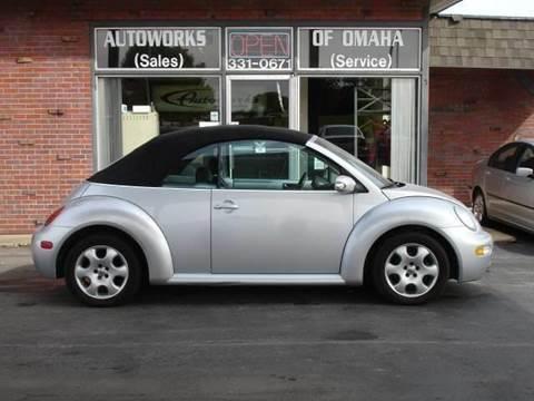 2003 Volkswagen New Beetle for sale at AUTOWORKS OF OMAHA INC in Omaha NE