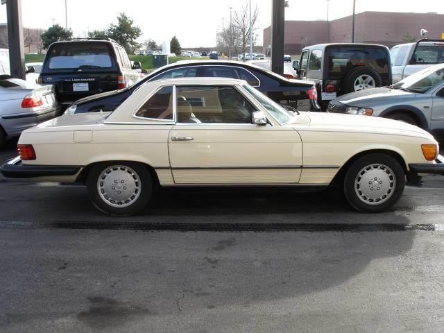 1983 Mercedes-Benz 380-Class for sale at AUTOWORKS OF OMAHA INC in Omaha NE