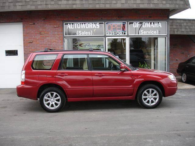 2006 Subaru Forester for sale at AUTOWORKS OF OMAHA INC in Omaha NE