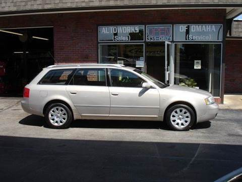 2001 Audi A6 for sale at AUTOWORKS OF OMAHA INC in Omaha NE