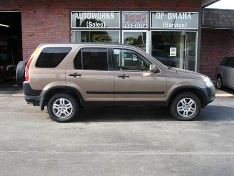 2002 Honda CR-V for sale at AUTOWORKS OF OMAHA INC in Omaha NE