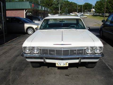 1965 Chevrolet Impala for sale at AUTOWORKS OF OMAHA INC in Omaha NE