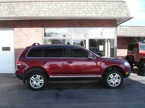 2004 Volkswagen Touareg for sale at AUTOWORKS OF OMAHA INC in Omaha NE