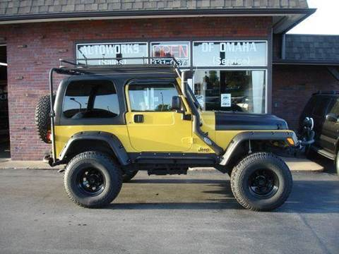 2004 Jeep Wrangler for sale at AUTOWORKS OF OMAHA INC in Omaha NE