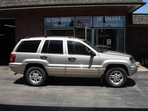 2004 Jeep Grand Cherokee for sale at AUTOWORKS OF OMAHA INC in Omaha NE