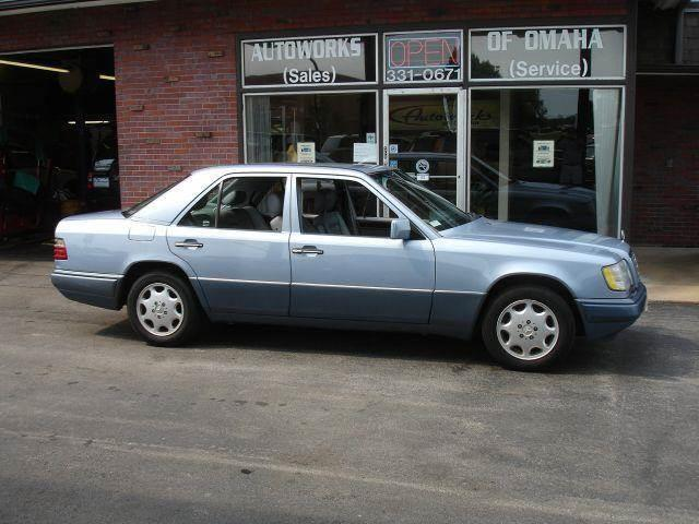 1994 Mercedes-Benz E-Class for sale at AUTOWORKS OF OMAHA INC in Omaha NE