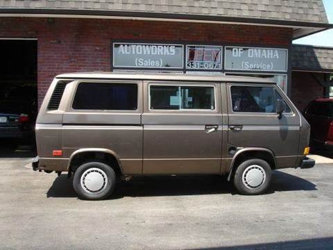 1986 Volkswagen Vanagon for sale at AUTOWORKS OF OMAHA INC in Omaha NE