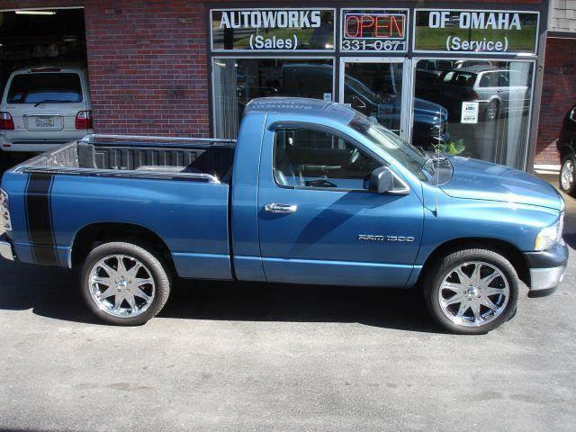 2002 Dodge Ram Pickup 1500 for sale at AUTOWORKS OF OMAHA INC in Omaha NE