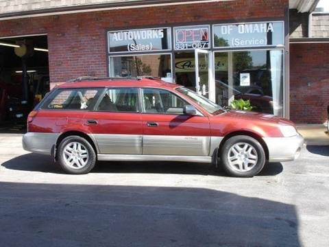 2002 Subaru Outback for sale at AUTOWORKS OF OMAHA INC in Omaha NE