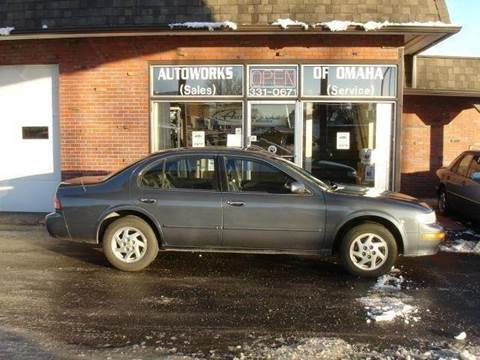 1999 Nissan Maxima for sale at AUTOWORKS OF OMAHA INC in Omaha NE