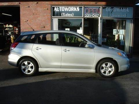 2003 Toyota Matrix for sale at AUTOWORKS OF OMAHA INC in Omaha NE