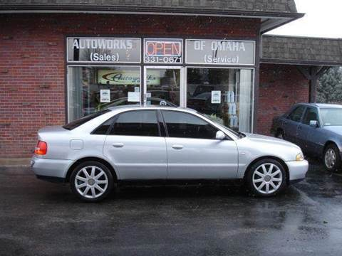 2001 Audi A4 for sale at AUTOWORKS OF OMAHA INC in Omaha NE