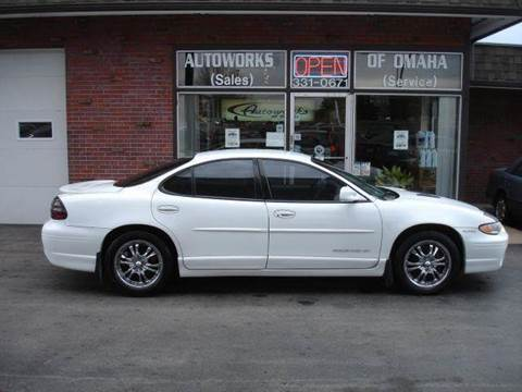 1999 Pontiac Grand Prix for sale at AUTOWORKS OF OMAHA INC in Omaha NE