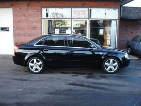 2004 Audi A4 for sale at AUTOWORKS OF OMAHA INC in Omaha NE