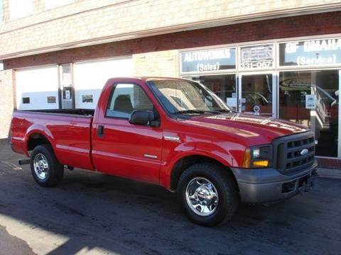 2005 Ford F-250 Super Duty for sale at AUTOWORKS OF OMAHA INC in Omaha NE