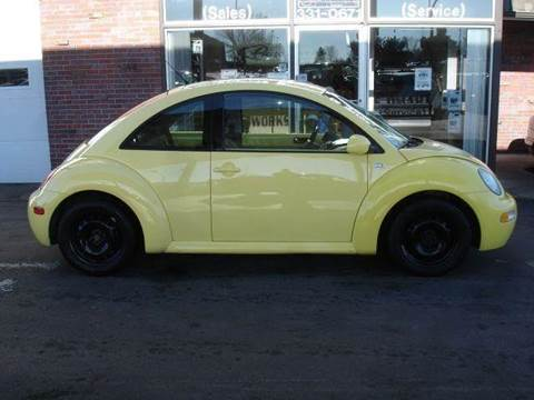2001 Volkswagen New Beetle for sale at AUTOWORKS OF OMAHA INC in Omaha NE