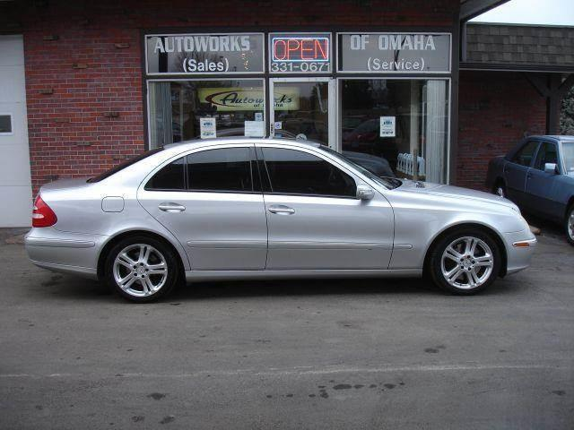 2005 Mercedes-Benz E-Class for sale at AUTOWORKS OF OMAHA INC in Omaha NE