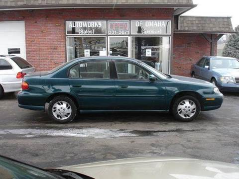 1998 Chevrolet Malibu for sale at AUTOWORKS OF OMAHA INC in Omaha NE