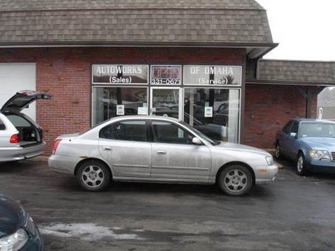 2001 Hyundai Elantra for sale at AUTOWORKS OF OMAHA INC in Omaha NE