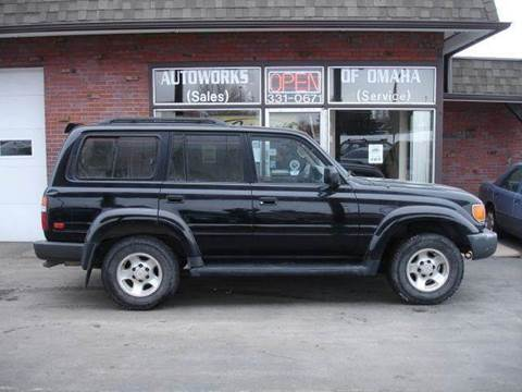 1996 Toyota Land Cruiser for sale at AUTOWORKS OF OMAHA INC in Omaha NE