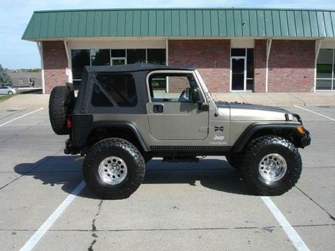 2005 Jeep Wrangler for sale at AUTOWORKS OF OMAHA INC in Omaha NE