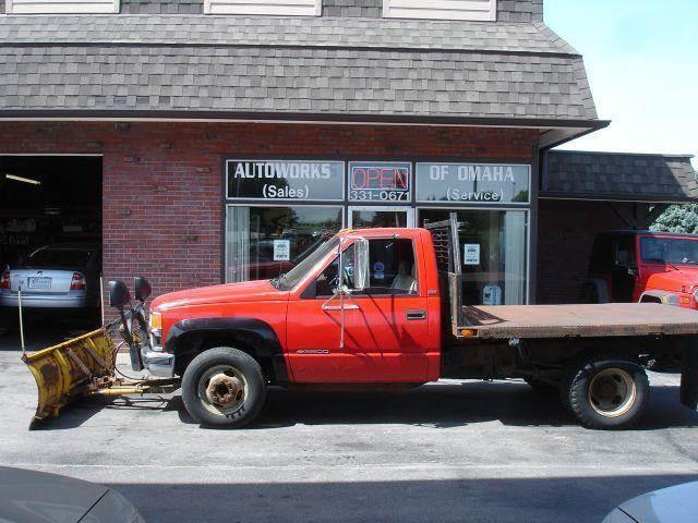 1995 Chevrolet C/K 3500 Series for sale at AUTOWORKS OF OMAHA INC in Omaha NE