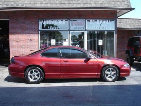 2002 Pontiac Grand Prix for sale at AUTOWORKS OF OMAHA INC in Omaha NE