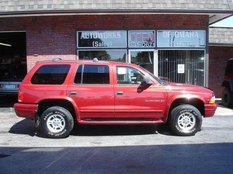 1999 Dodge Durango for sale at AUTOWORKS OF OMAHA INC in Omaha NE