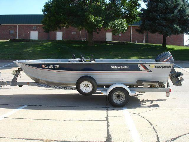 1988 SEA NYMPH 16FT for sale at AUTOWORKS OF OMAHA INC in Omaha NE