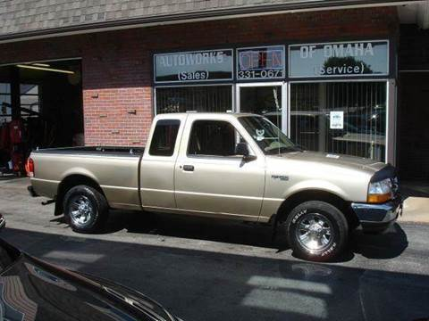 2000 Ford Ranger for sale at AUTOWORKS OF OMAHA INC in Omaha NE