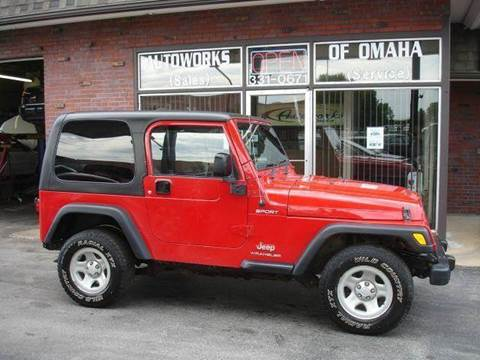 2006 Jeep Wrangler for sale at AUTOWORKS OF OMAHA INC in Omaha NE
