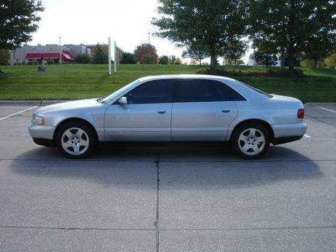 2000 Audi A8 for sale at AUTOWORKS OF OMAHA INC in Omaha NE