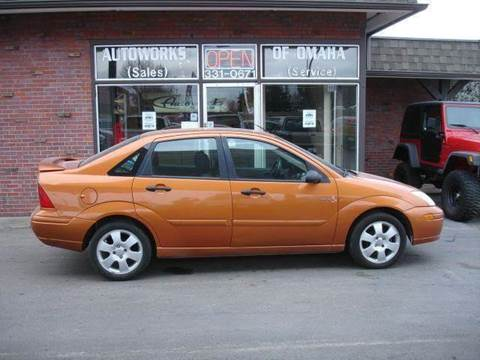 2002 Ford Focus for sale at AUTOWORKS OF OMAHA INC in Omaha NE