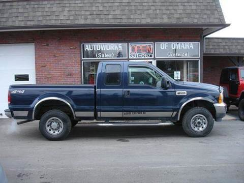 2001 Ford F-250 Super Duty for sale at AUTOWORKS OF OMAHA INC in Omaha NE