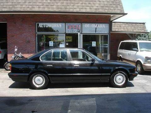 1993 BMW 5 Series for sale at AUTOWORKS OF OMAHA INC in Omaha NE