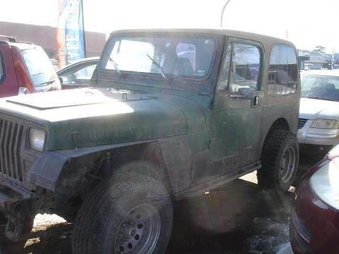 1991 Jeep Wrangler for sale at AUTOWORKS OF OMAHA INC in Omaha NE