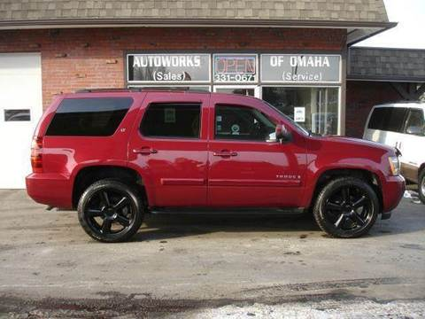 2007 Chevrolet Tahoe for sale at AUTOWORKS OF OMAHA INC in Omaha NE