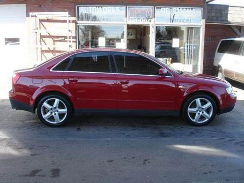 2003 Audi A4 for sale at AUTOWORKS OF OMAHA INC in Omaha NE