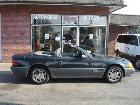 1992 Mercedes-Benz 500-Class for sale at AUTOWORKS OF OMAHA INC in Omaha NE