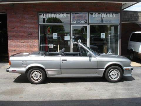 1989 BMW 3 Series for sale at AUTOWORKS OF OMAHA INC in Omaha NE