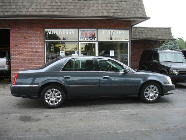 2010 Cadillac DTS for sale at AUTOWORKS OF OMAHA INC in Omaha NE