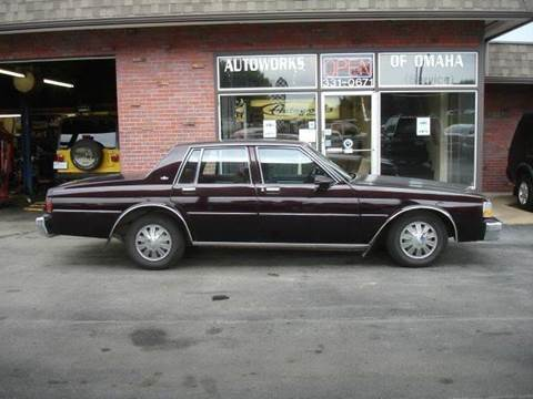 1989 Chevrolet Caprice for sale at AUTOWORKS OF OMAHA INC in Omaha NE