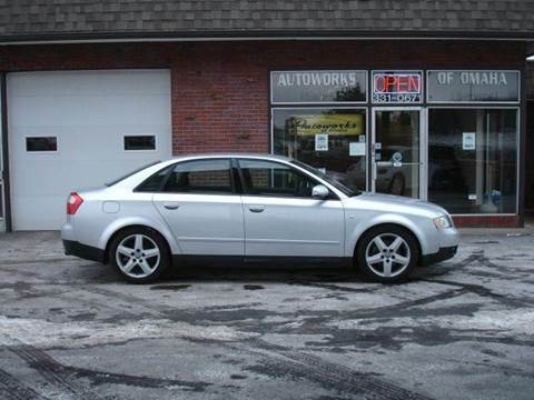 2002 Audi A4 for sale at AUTOWORKS OF OMAHA INC in Omaha NE