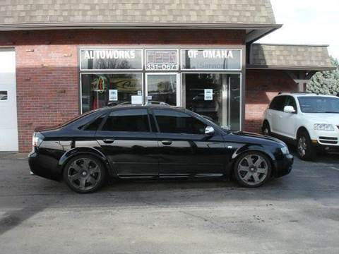 2004 Audi S4 for sale at AUTOWORKS OF OMAHA INC in Omaha NE